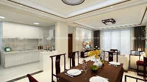 新中式 新中式古典 混搭 白领 收纳 旧房改造 80后 小资 大气 餐厅图片来自昆明二十四城装饰集团在新迎新城  新中式古典的分享