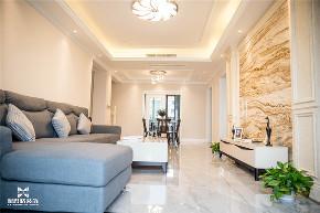 现代 新思路装饰 三居 白领 客厅图片来自重庆新思路装饰在万科金域学府(现代简约)的分享
