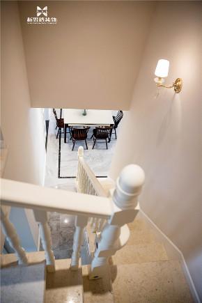 现代 新思路装饰 三居 白领 楼梯图片来自重庆新思路装饰在万科金域学府(现代简约)的分享