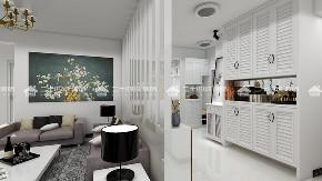 简约 现代简约 白领 收纳 三居 混搭 梦想家 小资 旧房改造 客厅图片来自昆明二十四城装饰集团在新迎小区  现代简约的分享