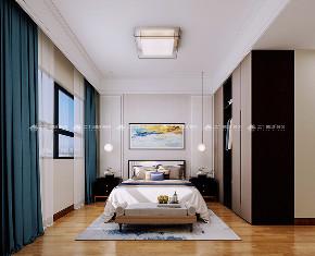 新中式 新中式古典 白领 收纳 旧房改造 80后 小资 梦想家 混搭 卧室图片来自昆明二十四城装饰集团在蓝光林肯公园  新中式古典的分享