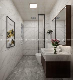 新中式 新中式古典 白领 收纳 旧房改造 80后 小资 梦想家 混搭 卫生间图片来自昆明二十四城装饰集团在蓝光林肯公园  新中式古典的分享