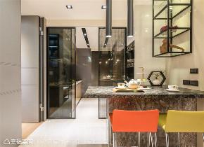 装修设计 装修完成 现代风格 厨房图片来自幸福空间在142平,拥抱绿意时尚休闲宅的分享