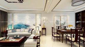 新中式 新中式古典 混搭 白领 收纳 旧房改造 80后 小资 大气 客厅图片来自昆明二十四城装饰集团在新迎新城  新中式古典的分享