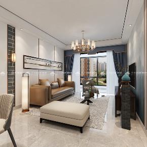 新中式 新中式古典 白领 收纳 旧房改造 80后 小资 梦想家 混搭 客厅图片来自昆明二十四城装饰集团在蓝光林肯公园  新中式古典的分享