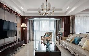 客厅图片来自家装大管家在128平新古典雅致3居 私享舒适家的分享