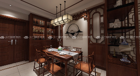 中式 古典 中式古韵 古香 传统 收纳 旧房改造 80后 混搭 餐厅图片来自昆明二十四城装饰集团在都铎城邦  中式的分享
