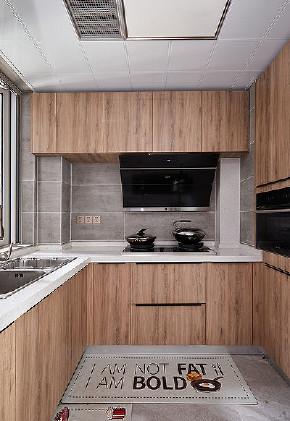 厨房图片来自家装大管家在98平北欧混搭空间 自然如此的近的分享