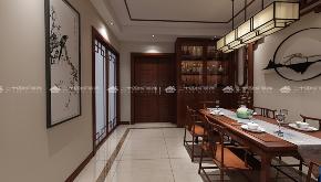 中式 古典 中式古韵 古香 传统 收纳 旧房改造 80后 混搭 餐厅图片来自二十四城装饰(集团)昆明公司在都铎城邦  中式的分享