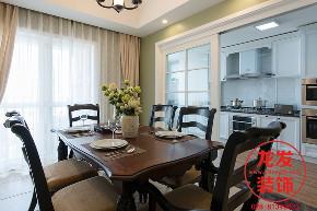 成都龙发 龙发装饰 龙发设计 餐厅图片来自用户20000004404262在中海右岸现代美式风格案例分享的分享