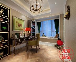 成都龙发 龙发装饰 龙发设计 书房图片来自用户20000004404262在雍锦阁欧式风格案例分享的分享