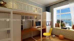 清新北欧 北欧 温馨舒适 文艺 白领 收纳 旧房改造 小资 80后 儿童房图片来自二十四城装饰(集团)昆明公司在安居家园 清新北欧的分享