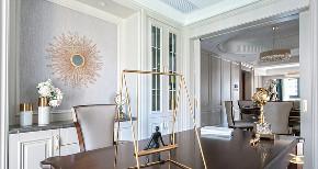 书房图片来自家装大管家在140平轻奢美式3居 雅致舒适融合的分享