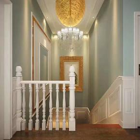 欧式 楼梯图片来自乐粉_20181003112538352在贵阳碧桂园欧式案例的分享