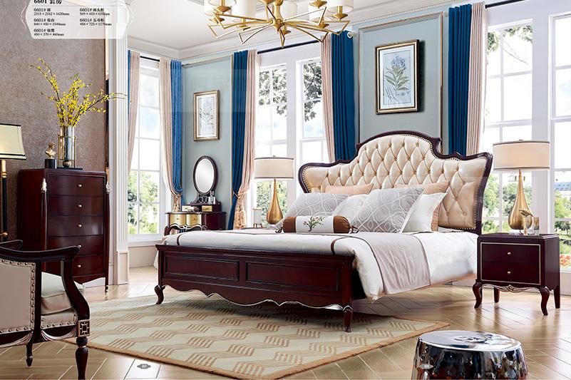 轻奢风格 实木家具 实木床图片来自浙江阿家咪米在阿家咪米轻奢风格实木家具美图的分享