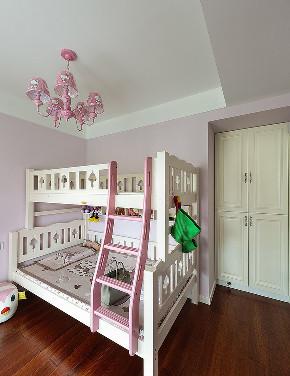 儿童房图片来自家装大管家在89平暖色调美式居 年轻人的风格的分享