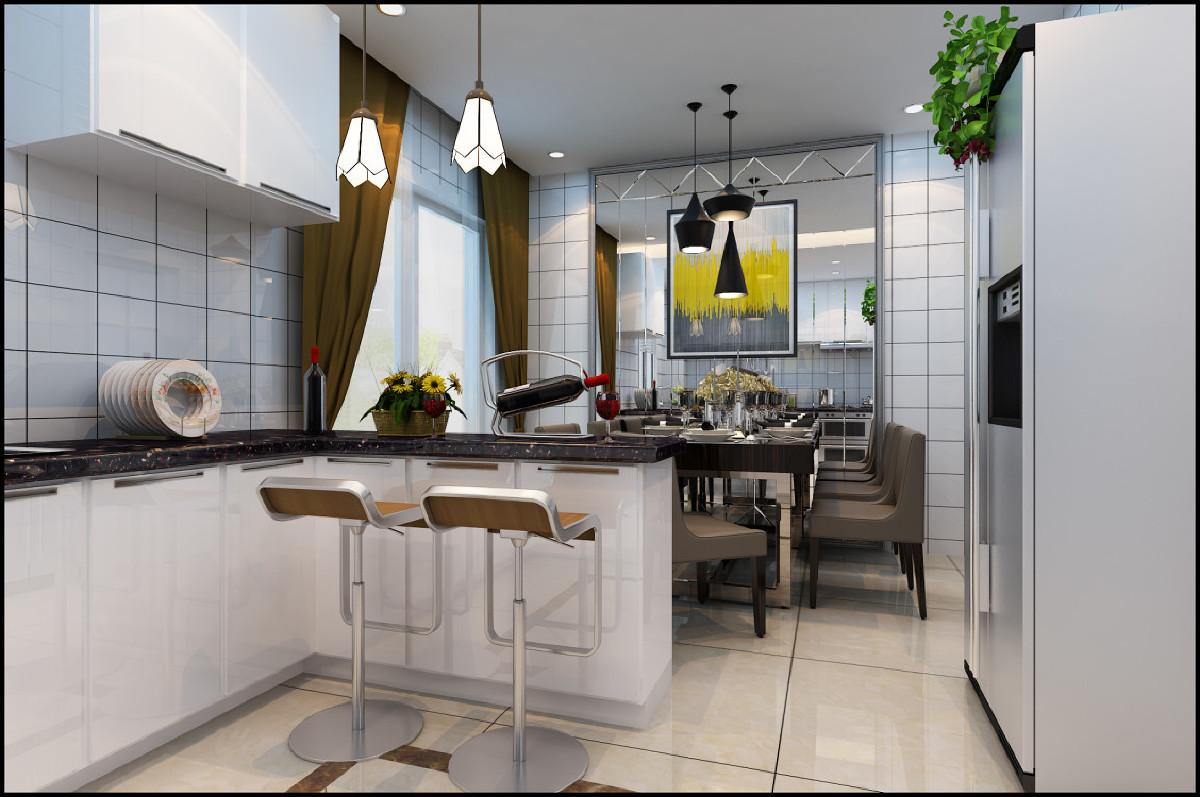 餐厅的灯光既不能太强也不能太弱,灯光以温馨和暖黄色为基调。