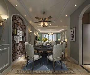 简约 美式 洋房 餐厅图片来自乐粉_20181003112538352在简约美式风格装修案例的分享
