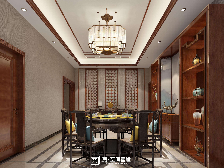 小资 别墅 餐厅图片来自夏空间营造在夏•空间营造丨吴江自建别墅的分享