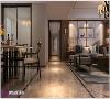 万达文旅城装修四居室新中式风格