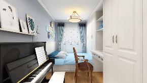 欧式 混搭 二居 旧房改造 80后 儿童房图片来自徐春龙设计师在美式咖啡的分享