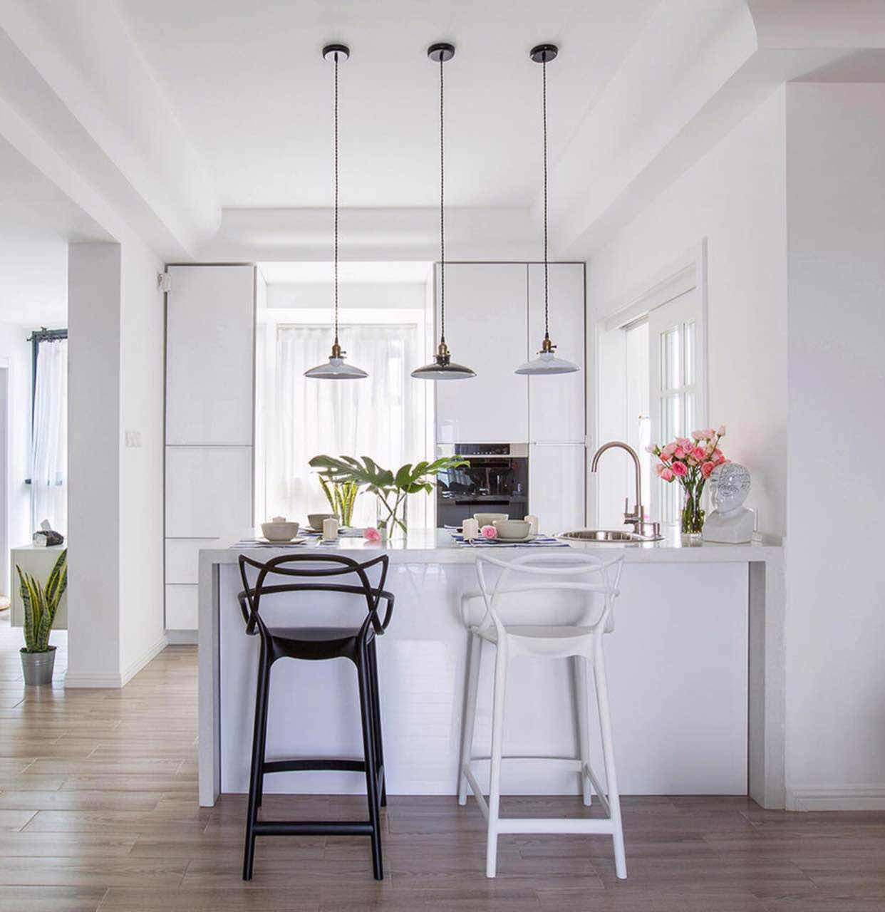 北欧 住宅 公寓 新房装修 餐厅图片来自乐粉_20181003112538352在北欧风格装修案例的分享