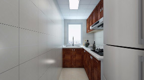 欧式 混搭 二居 旧房改造 80后 厨房图片来自徐春龙设计师在美式咖啡的分享