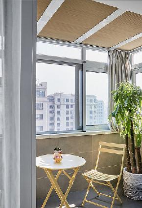 阳台图片来自家装大管家在106平时尚北欧3居室 大写的实用的分享