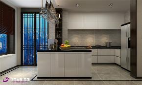 简约 新中式 厨房图片来自济南城市人家装修公司-在济南拉菲公馆新中式风格装修的分享