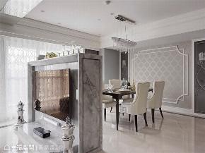 装修设计 装修完成 新古典 餐厅图片来自幸福空间在165平,两户合并  打造不凡居所的分享