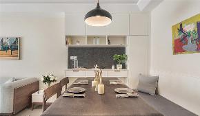 厨房图片来自家装大管家在温润素雅 98平现代简约舒适空间的分享