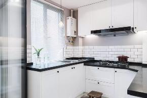 北欧 半包 全包 私人订制 全案设计 厨房图片来自鹏友百年装饰在低调灰+白色+木色,好漂亮!的分享