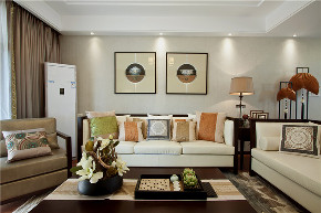 二居 中式 旧房改造 客厅图片来自北京今朝装饰在两室的中式主题的分享