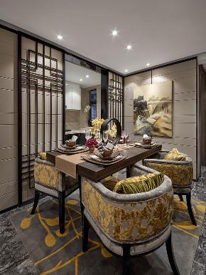 二居 旧房改造 中式 餐厅图片来自北京今朝装饰在中式客中山水的分享