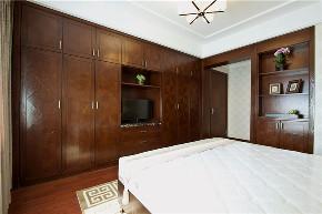二居 中式 旧房改造 卧室图片来自北京今朝装饰在两室的中式主题的分享