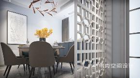 餐厅图片来自韦克空间设计在现代雅致之风,静享时光之美的分享