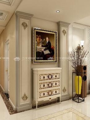 简欧 简约 欧式 收纳 白领 80后 小资 旧房改造 混搭 玄关图片来自昆明二十四城装饰集团在建工新城  简欧的分享