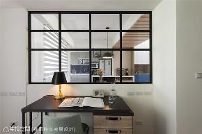 装修设计 装修完成 休闲多元 标准格局 书房图片来自幸福空间在112平,自然清爽,都会Light宅的分享