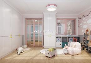 美式 复式 旧房改造 儿童房图片来自北京今朝装饰在景泰西里的分享