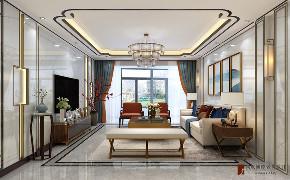 客厅图片来自北京高度国际在正东国际----现代中式的分享
