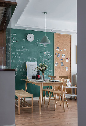 餐厅图片来自家装大管家在唯美浪漫 95平温润北欧时尚空间的分享