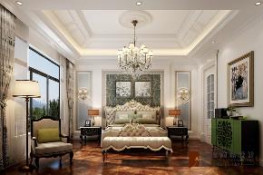 卧室图片来自北京高度国际在中信墅--简约欧式风格的分享