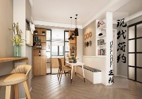 餐厅图片来自沈阳百家装饰小姜在百家装饰金地艺境83平北欧风格的分享