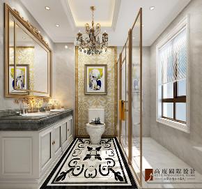 卫生间图片来自北京高度国际在中信墅--简约欧式风格的分享