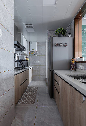 厨房图片来自家装大管家在唯美浪漫 95平温润北欧时尚空间的分享