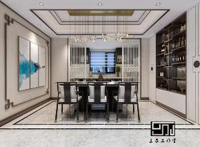 餐厅图片来自沈阳百家装饰小姜在碧桂园名门200平别墅港式风格的分享
