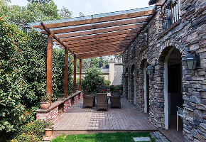 万科兰乔圣 别墅装修 欧美风格 别墅设计师 阳台图片来自jtong0002在万科兰乔圣菲别墅装修设计的分享