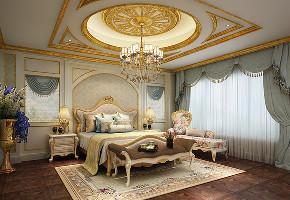 一品漫城 别墅装修 欧式古典 别墅设计师 卧室图片来自jtong0002在一品漫城独栋别墅欧式宫廷风格的分享