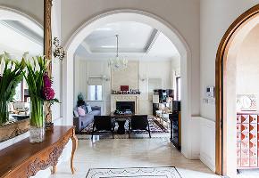 万科兰乔圣 别墅装修 欧美风格 别墅设计师 玄关图片来自jtong0002在万科兰乔圣菲别墅装修设计的分享
