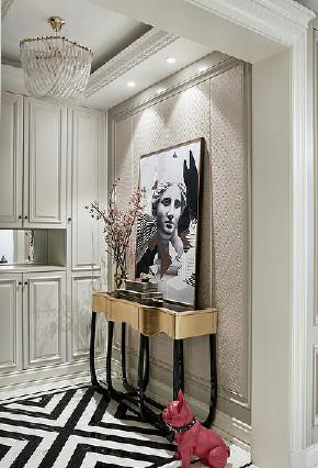 玄关图片来自家装大管家在135平端庄优雅3居 休闲舒适氛围的分享